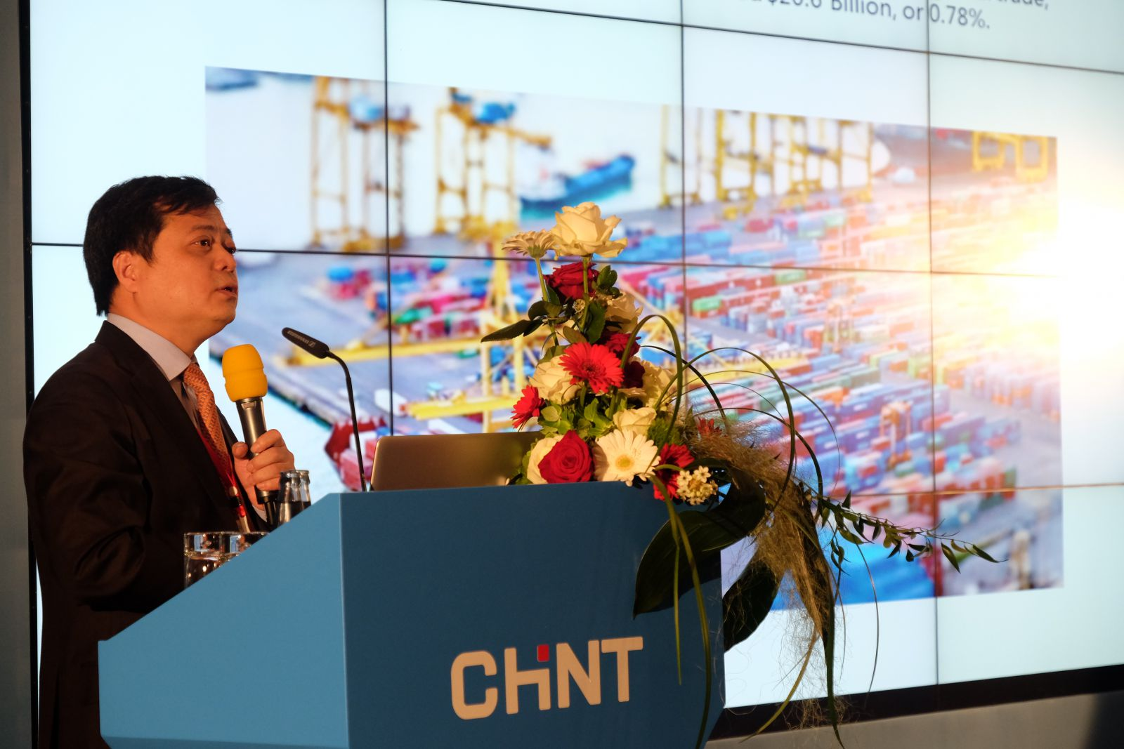 CHINT Electric marketing conference